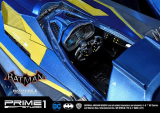 Batmobile 1970's Skin Version de Batman Arkham Knight - Prime 1 Studio