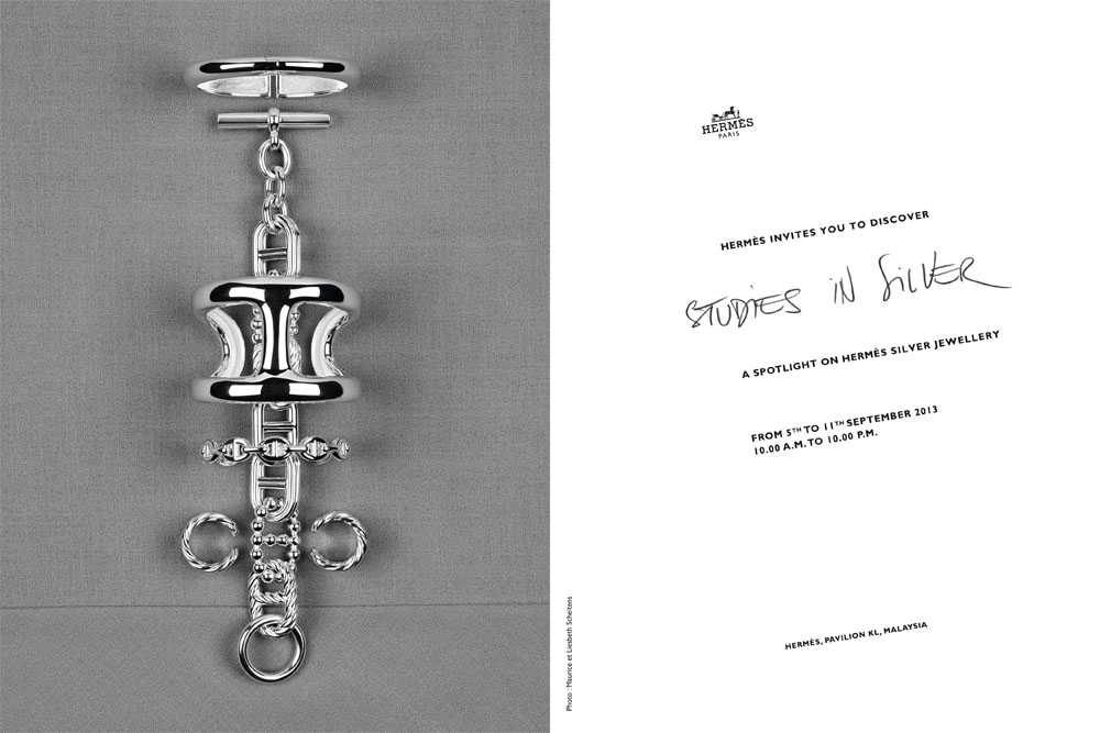 """The Deets on the upcoming Hermès """"Studies in Silver"""" Exhibit at Pavilion KL Next Week!"""
