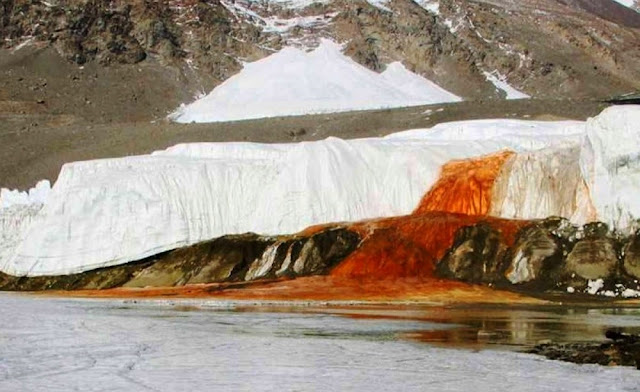 Scientists Solve Mystery Behind Antarctica's Blood Falls
