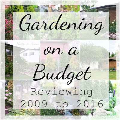 Gardening on a Budget - A look back to 2009 to 2016