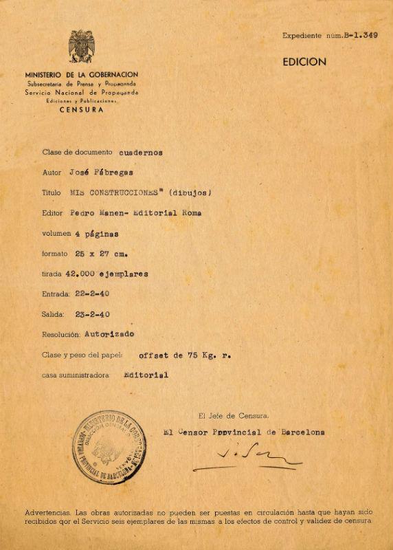 Censura en los juquetes de los años sesenta en España