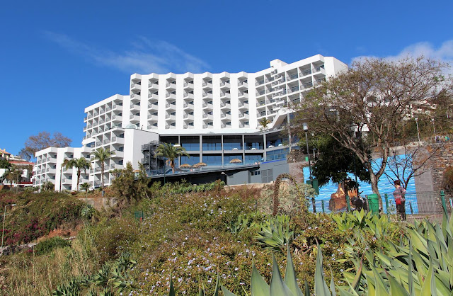 the renovated Baía Azul hotel