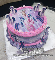 Edible Image My Little Pony Kue Tart