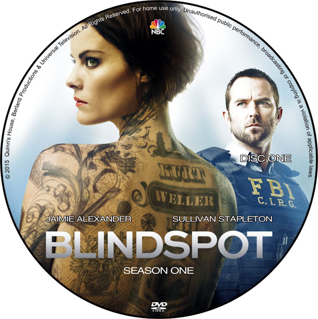 Label DVD Blindspot Season One
