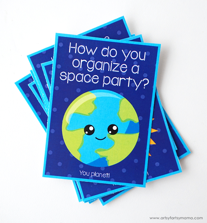 Free Printable Outer Space Jokes