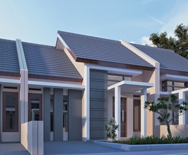 Desain Rumah Minimalis Type 45 Modern Populer