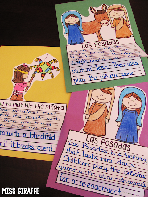 Las Posadas writing craft activity and other fun Christmas around the world ideas
