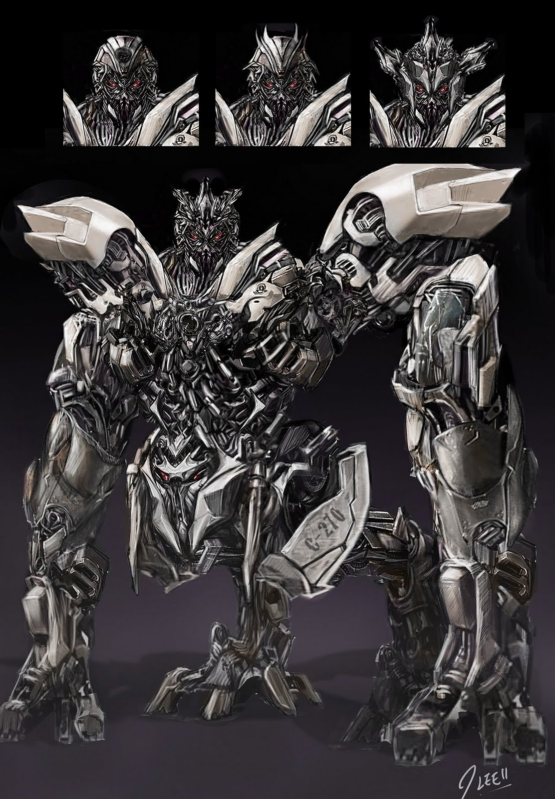 JEREMIAH CONCEPT DESIGN: Transformers - Decepticon Refurbished