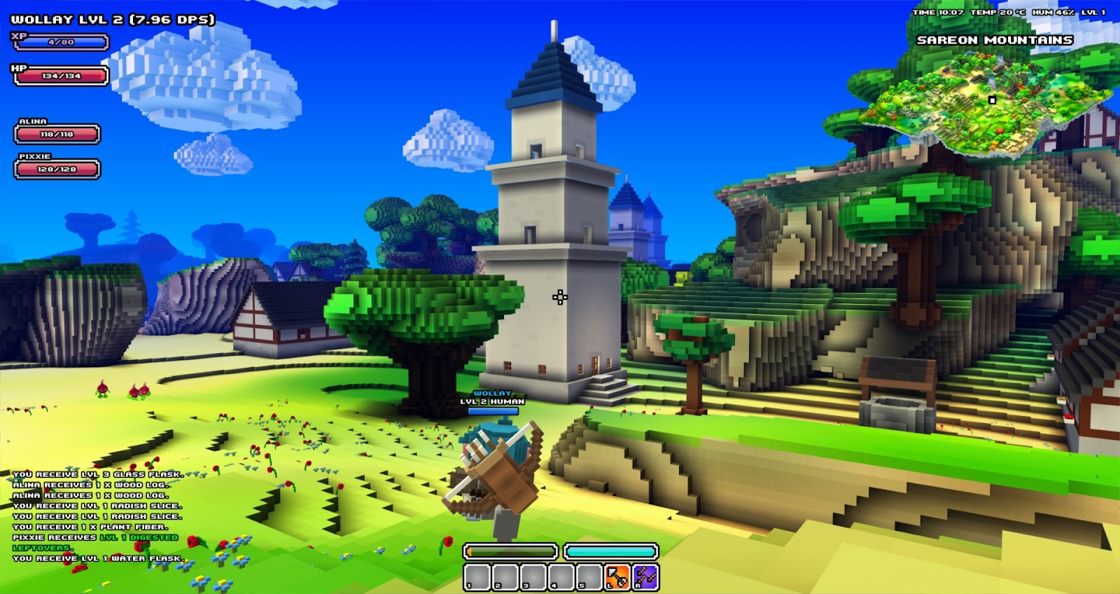wollay's blog: Cube World News