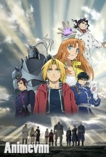 Fullmetal Alchemist The Movie - Fullmetal Alchemist Movie: Conqueror of Shamballa 2014 Poster