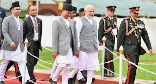 modi-reaches-nepal-participate-bimsteck
