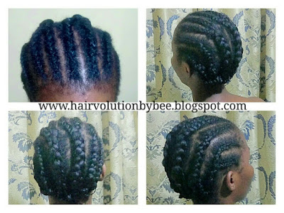 crotchet braids cornrows