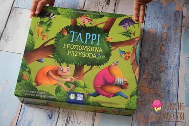 """Gra dla dzieci """"Tappi i poziomkowa przygoda"""""""