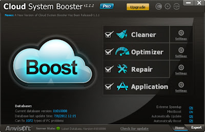 Cloud System Booster pro 1.1.1 + Serial