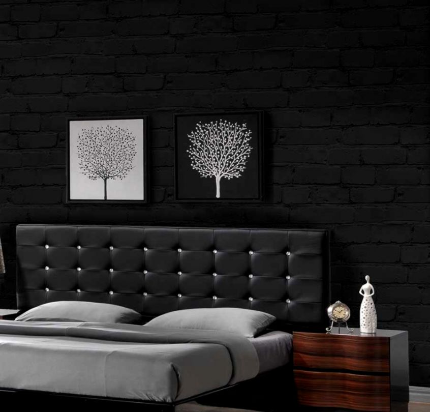 Black Wallpaper Bedroom | View Wallpapers