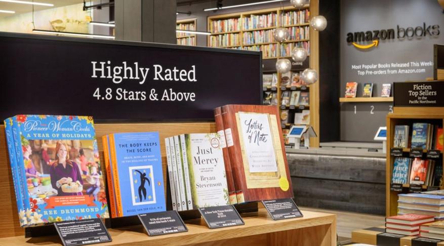 你以為亞馬遜實體店是為了賣書?不,它是為了大數據!|數位時代
