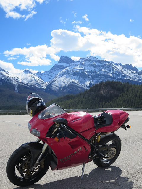 Ducati 916 Rocky Mountains