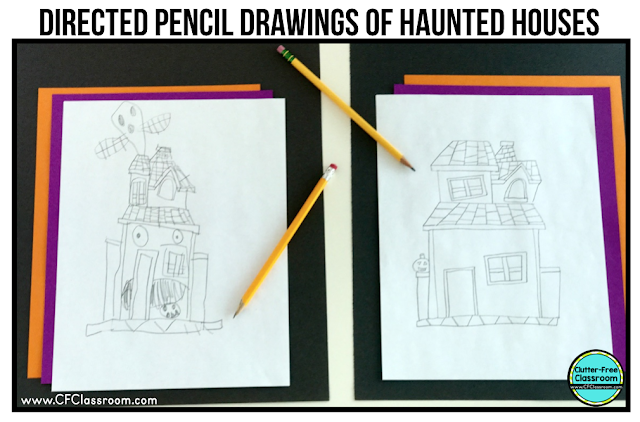Haunted house for sale writing activity for 5th