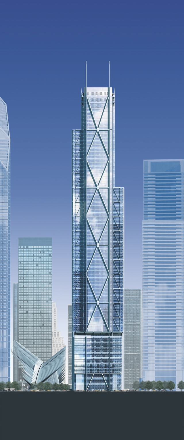 Architecture Corner 3 World Trade Center By Rogers Stirk