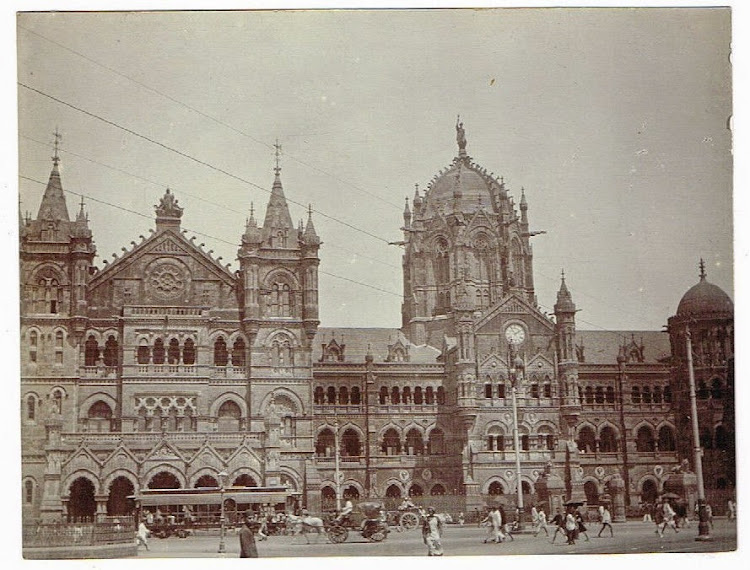 Victoria Railway Station in Bombay (Mumbai) c1905-10