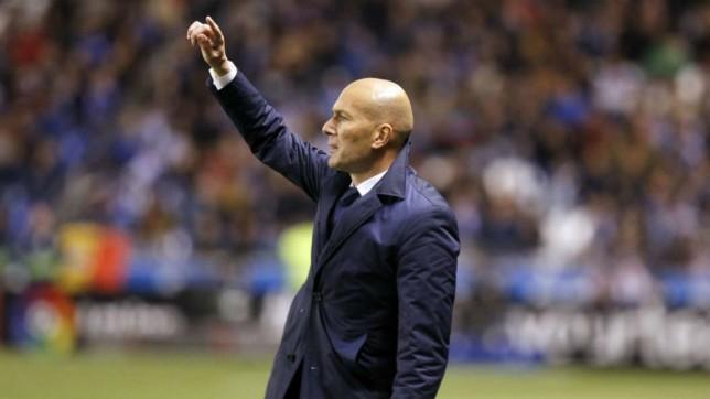 زين الدين زيدان يشيد بأداء ريال مدريد فى مباراة التتويج للفوز بالدورى الأسبانى