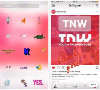 Cara Menggunakan Fitur Animasi GIF Search di Instagram Stories