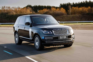 ENHANCED PROTECTION AND PERFORMANCE FOR ARMOURED RANGE ROVER SENTINEL