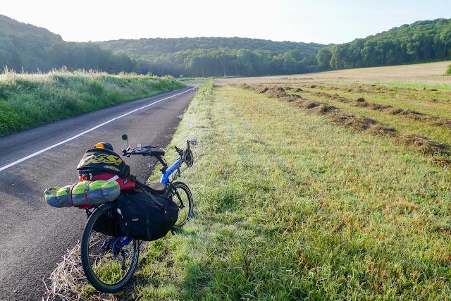 De Paris à Narbonne en vélo, vers Etrechy