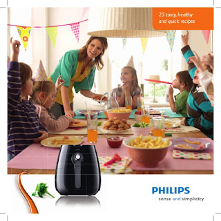 buku resep philips air fryer
