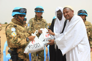 Satgas Indobatt-02 Bantu Masyarakat Lokal di Darfur-Sudan