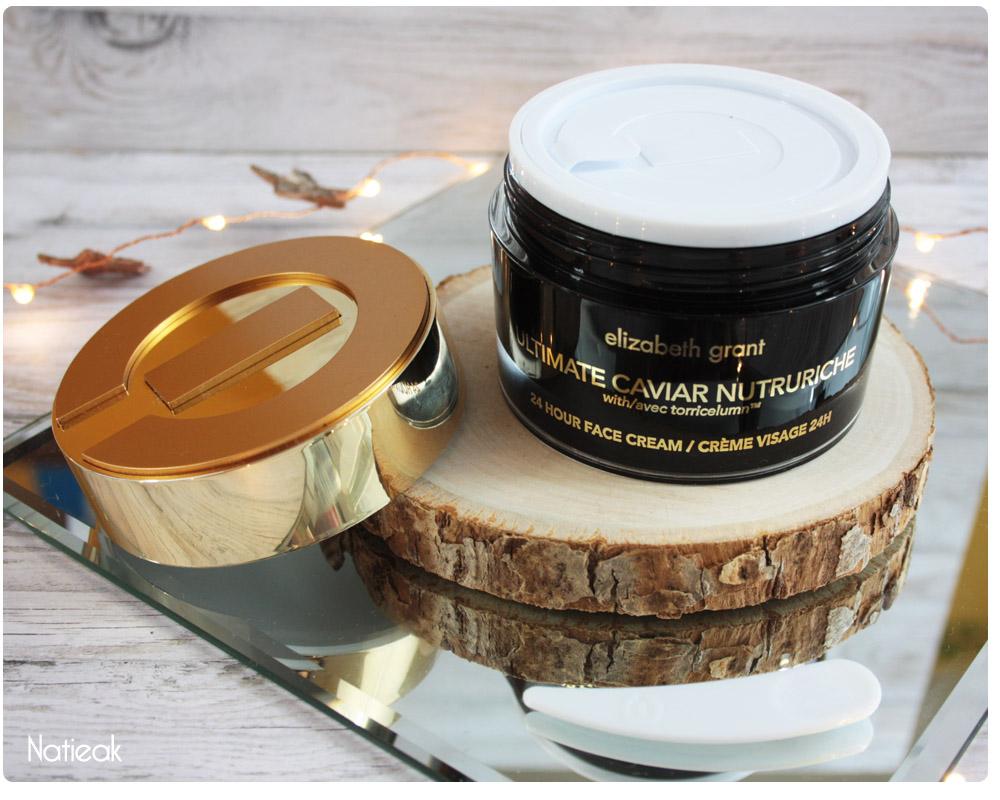 crème visage Ultimate caviar nutruriche de Elizabeth Grant