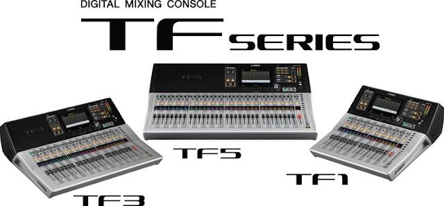 Mixer Digital Sound System TF Series