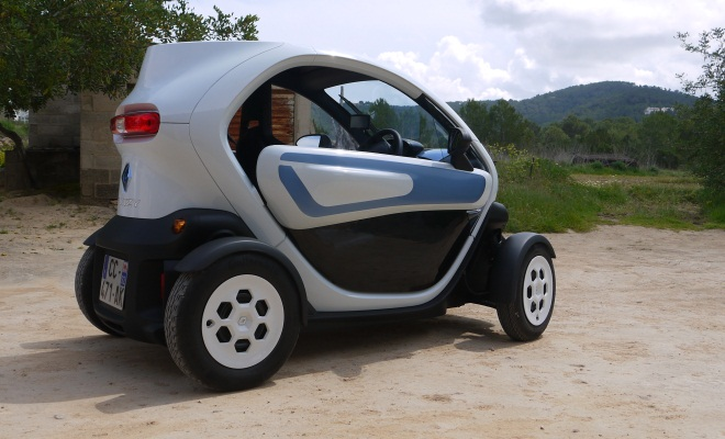 Renault Twizy Colour - side view
