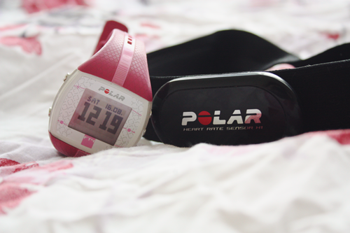 Polar Fitness FT4 Heart Rate Monitor review on francescasophia.co.uk