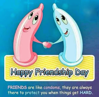 Friendship Day Funny Condoms Image