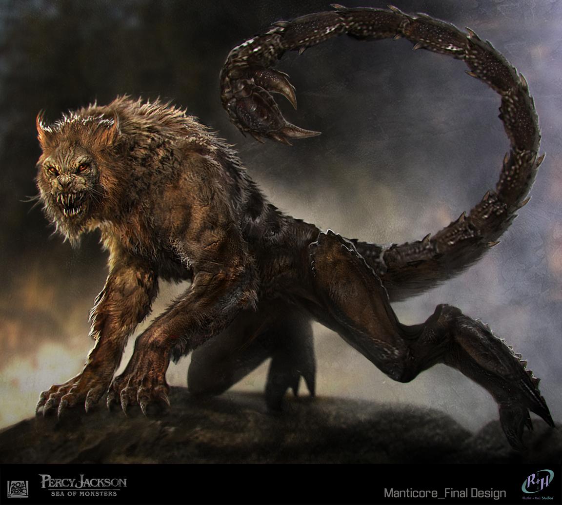 Sebastian Meyer Percy Jackson Sea Of Monsters Concept Art
