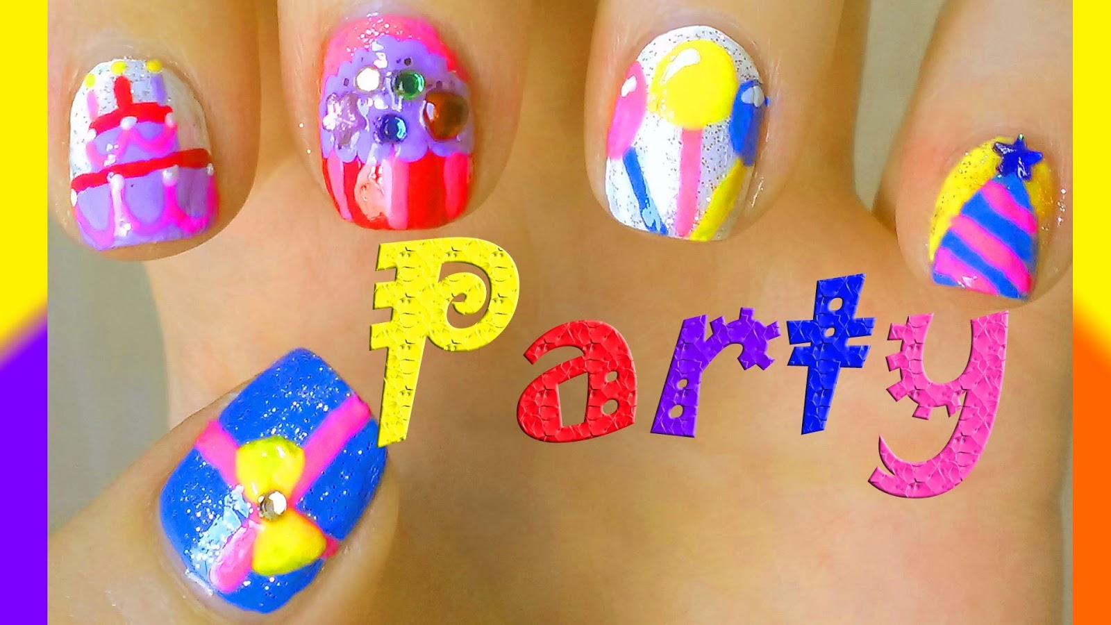 Easy And Stylish Nail Art Designs For Friendship Day - NailsDesign ...