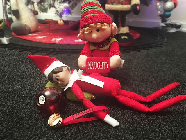 Pickering's Gin Baubles and Elf on The Shelf