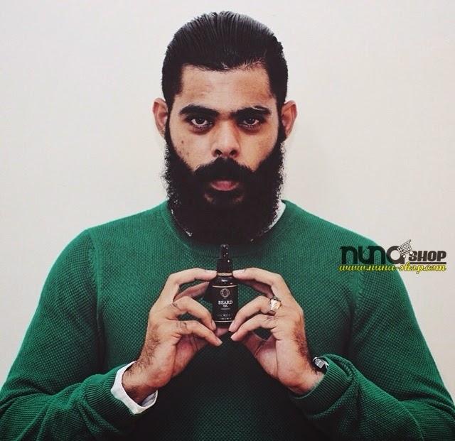 Ombak Beard Oil Minyak Janggut Misai Jambang