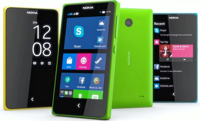 Nokia XL, Nokia X+ Plus, Nokia X Specs & Features Comparison