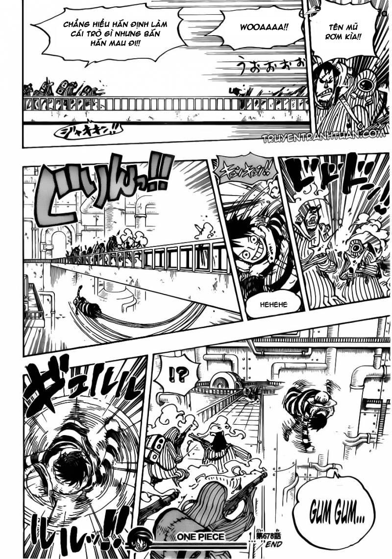 One Piece Chap 678
