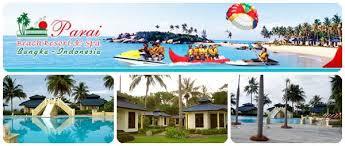 Parai Beach Resort & Spa terletak di Kawasan Wisata Terpadu Pantai Parai Tenggiri, Sungailiat