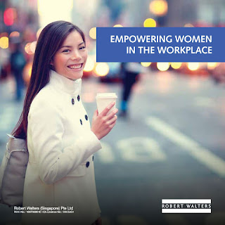 Source: Robert Walters white paper. Empowering women in the workplace.