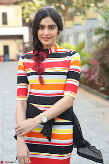 Adha Sharma in a Cute Colorful Jumpsuit Styled By Manasi Aggarwal Promoting movie Commando 2 (28).JPG