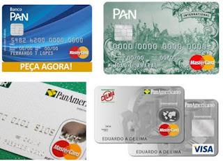 Pedir um Cartão Panamericano Banco PAN