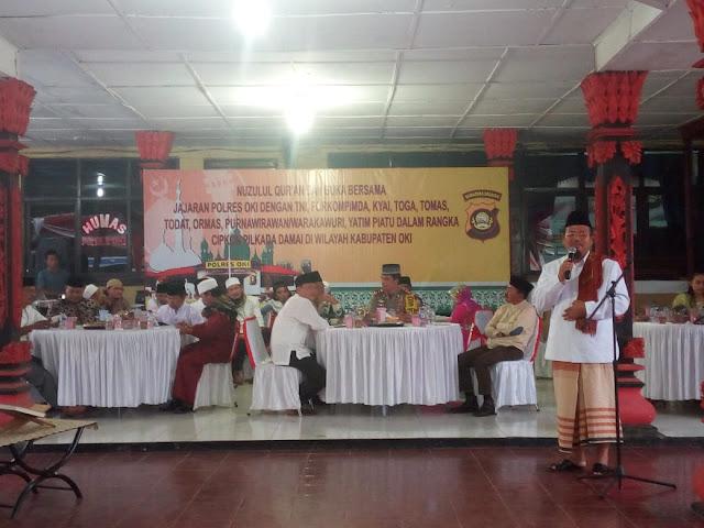 Jalin Silaturahmi, Polres OKI Gelar Bukber