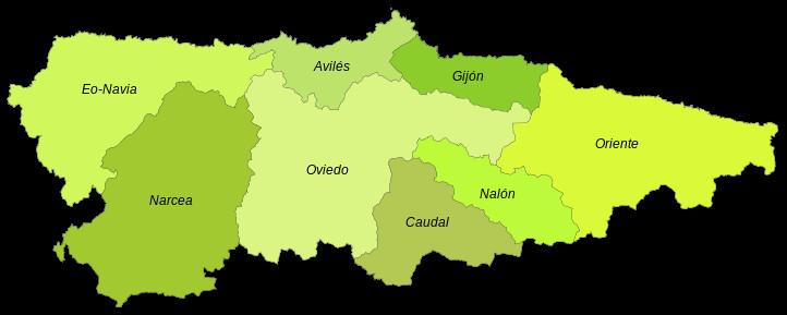 Mapa Politico De Asturias.Hola K Ase 3ºb R I E S Jovellanos Mapa Politico De