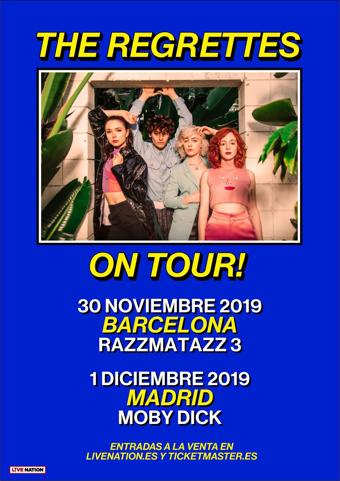 The Regrettes On Tour