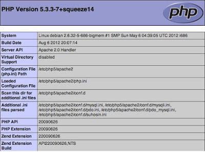 Cara menginstal Linux, Apache, MySQL, PHP debian 7
