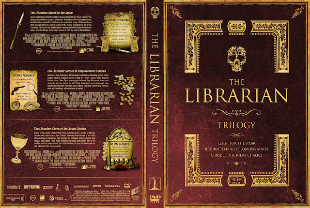 The Librarian Trilogy DVD Cover